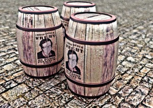 barrels rendered and modeled in Blender3d